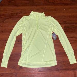 NWT Danskin quarter zip shirt